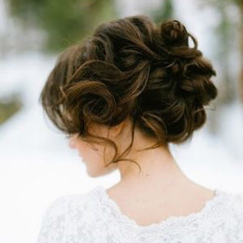 Wedding Day Hair Upstyle