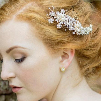 Florence Gold Wedding Hair Comb