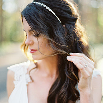 Hair Half-Up Wedding Hairstyle