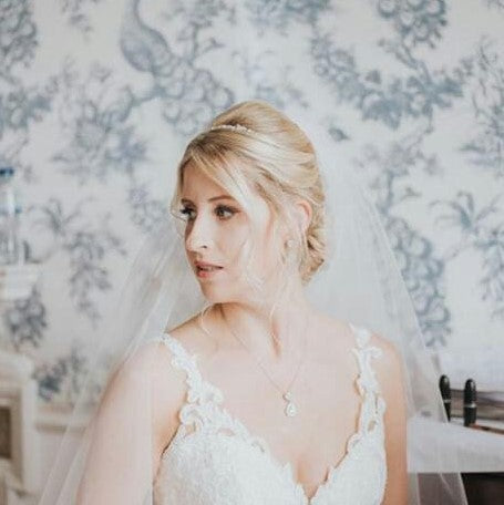 Real Bride Aimee Wears Jodie Set