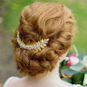 Red-Hair Wedding Up-style