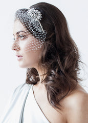 The Abigail Headpiece and Birdcage