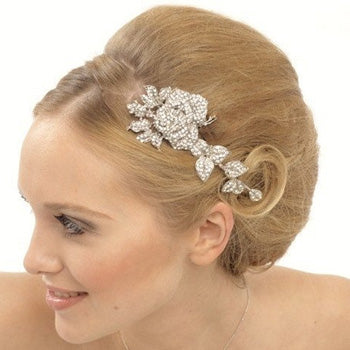 Mimosa Flower Hair Comb
