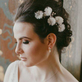 Structured Wedding Hair Style