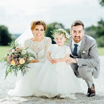 Real Bride Roisins Wedding Country Side