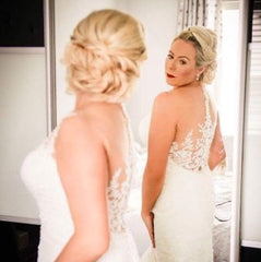 Real Bride Louise Wears Alisha Set