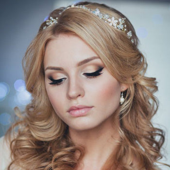 Pretty Make-up Wedding Ideas