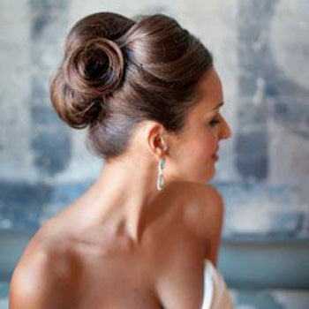 Structure Hair Up-style Wedding