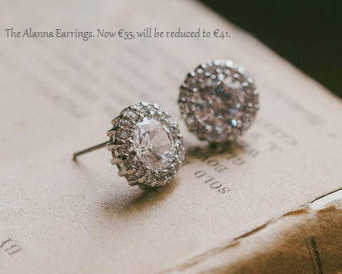 The Alanna Crystal Stud Earrings