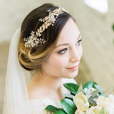 2019 Wedding Hairstyles Veil Inspiration Jules Bridal Jewellery