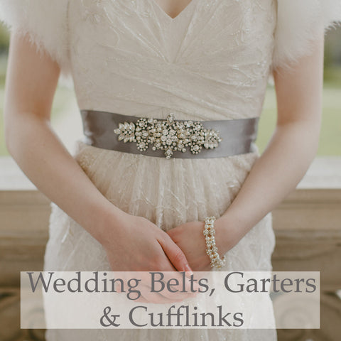 Wedding Belts, Garters & Cufflinks