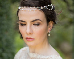 Wedding Hair Brow Band St.Tropez