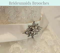 Bridesmaids Brooches