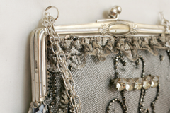 Cathy White Vintage Handbag in Silver