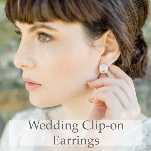 Wedding Clip-on Earrings