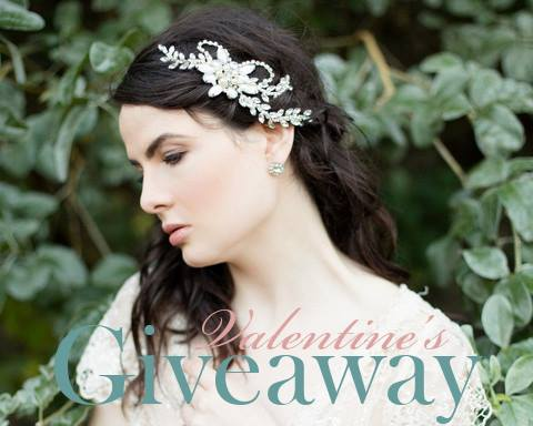 Dahlia Headpiece giveaway on Fly away Bride