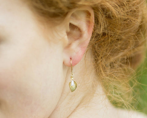 Forest Gold Earrings