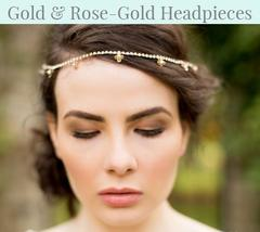 Gold & Rose-Gold Headpieces