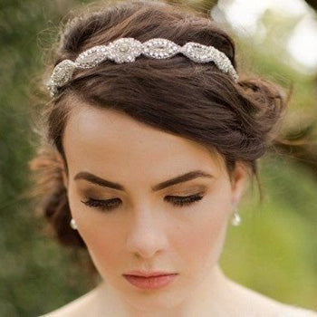 Marissa Applique Wedding Headband