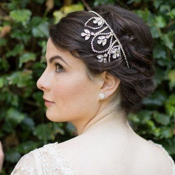 Posy Diamante Wedding Headband