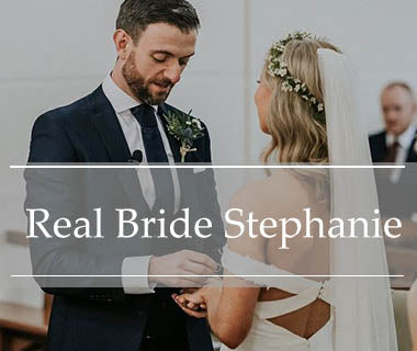Real Bride Stephanie