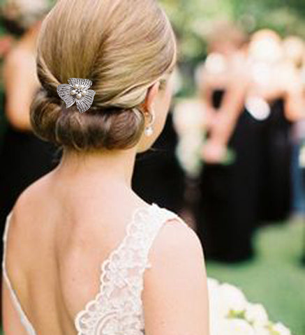 How To Use Hair Accessories To Enhance Your Wedding Day Hair Style
