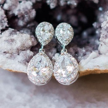 Jodie Crystal Earrings