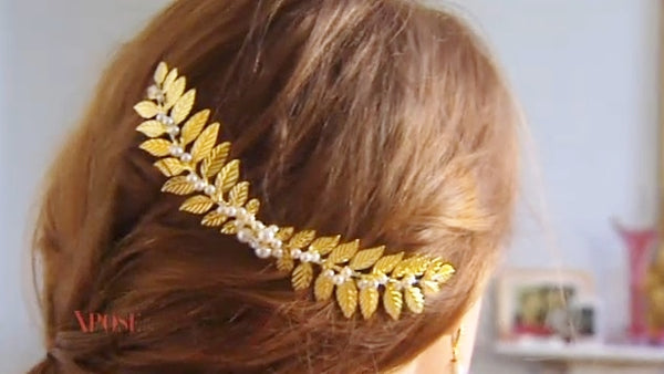 Laurel Gold Headpiece