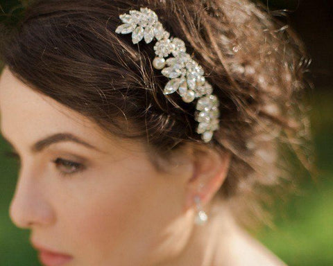 Lucia Rhinestone Wedding Hair Comb