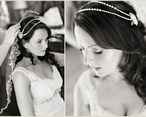 Lucy Pearl Wedding Hair Clips