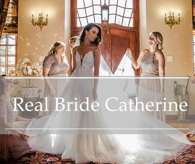 Real Bride Catherine