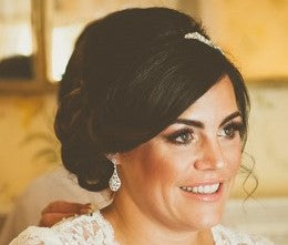 Real Bride Halo Earrings