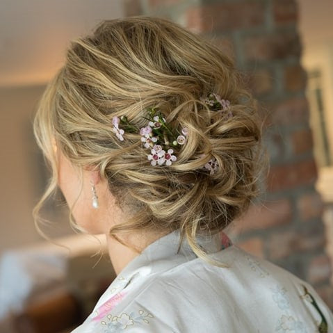 Sarahs Wedding Hairstyle