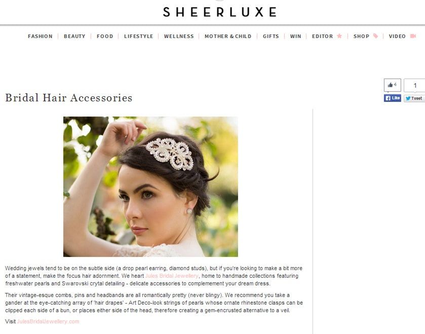 Sheerluxe feature on Jules