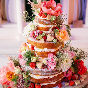 Spring Weddings Inspiration Cakes
