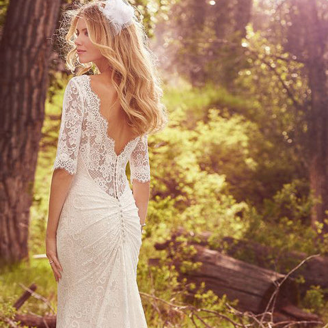Spring Wedding Inspiration Dress