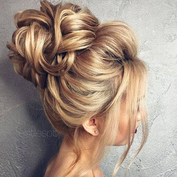 nice hair up styles wedding hair up style inspiration 2018 jules 5767 | spring wedding updo blonde 1 large