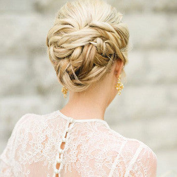 Spring Wedding Hair Up Style Inspiration 2017 Jules Bridal Jewellery
