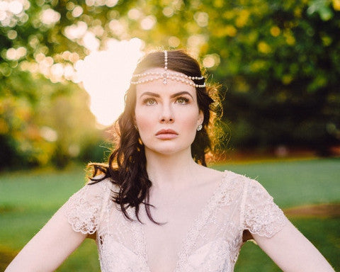 Suzie Wedding Headpiece