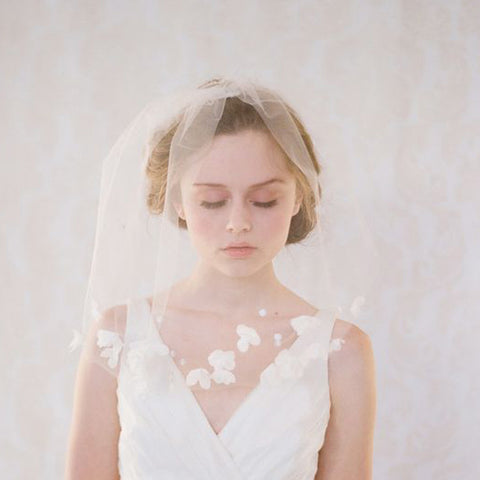 Confused about wedding veil styles jules bridal jewellery wedding veil styles wedding veil styles junglespirit Image collections