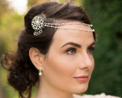 Brow Band Wedding Headpiece Venice