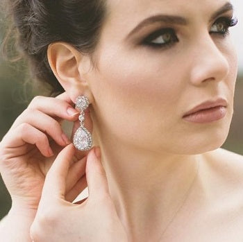 Maisy Crystal Drop Earrings