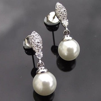 Rochelle Pearl Drop Earrings