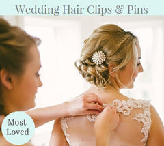 Wedding Hair Clips & Pins