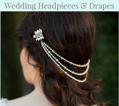 Wedding Headpieces & Drapes