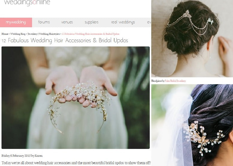 Weddings Online Blog 12 Fabulous Headpieces