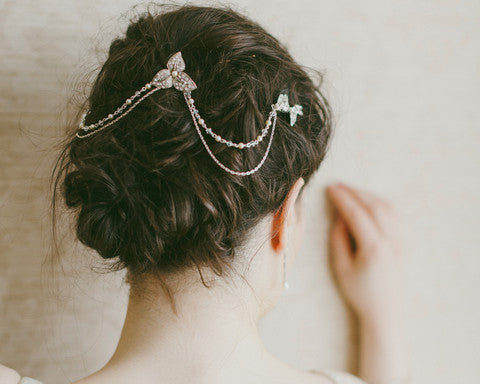 The Camomile Wedding Headpiece