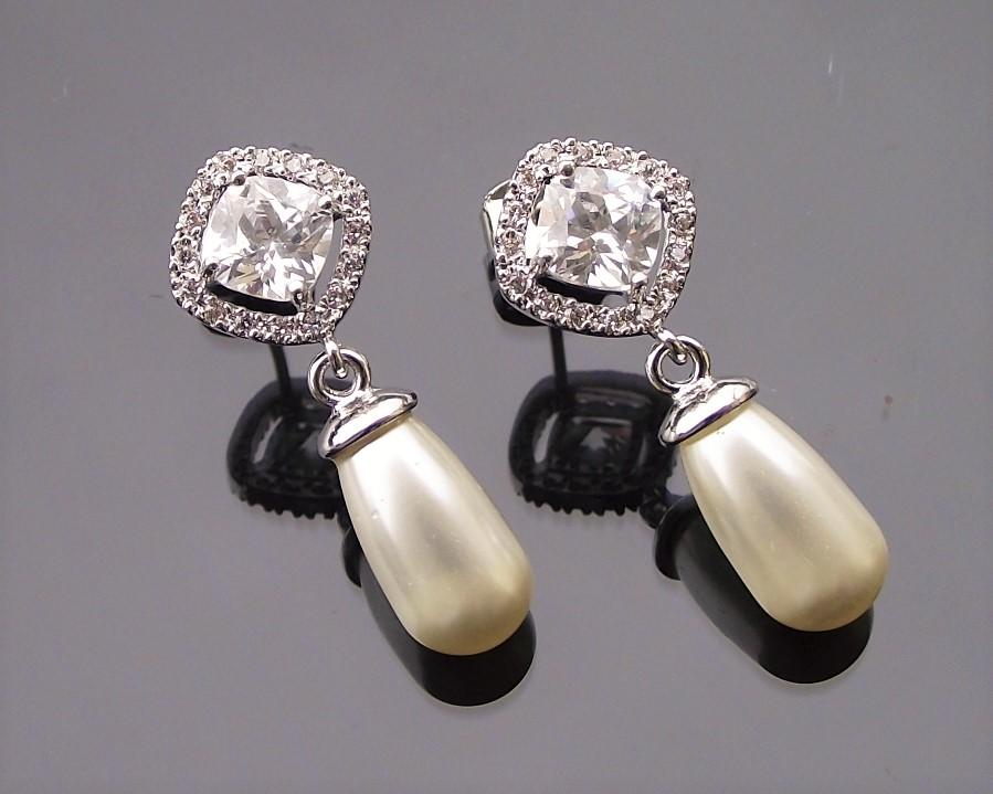 Fifi silver earrings pearl 2