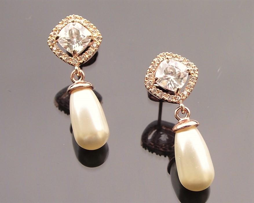 Fifi Yellow Gold Earrings 3