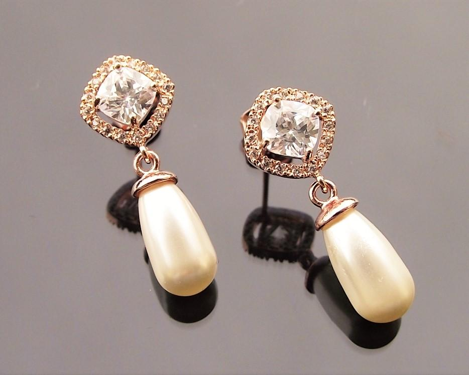 Fifi Yellow Gold Earrings 5
